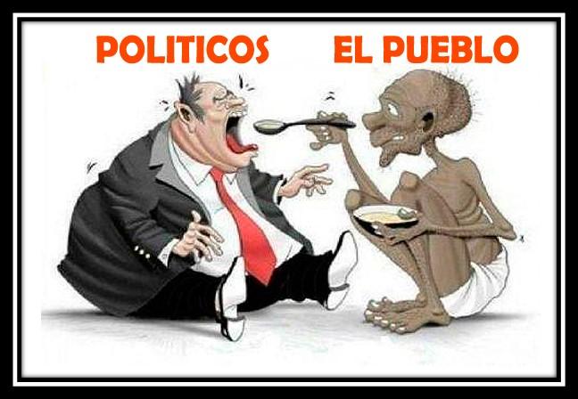 Políticos pueblo