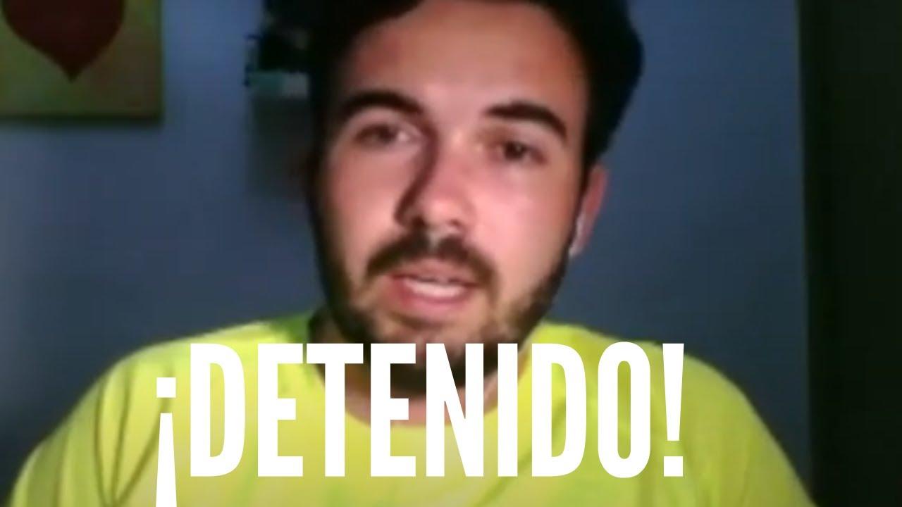Juan Recio detenido