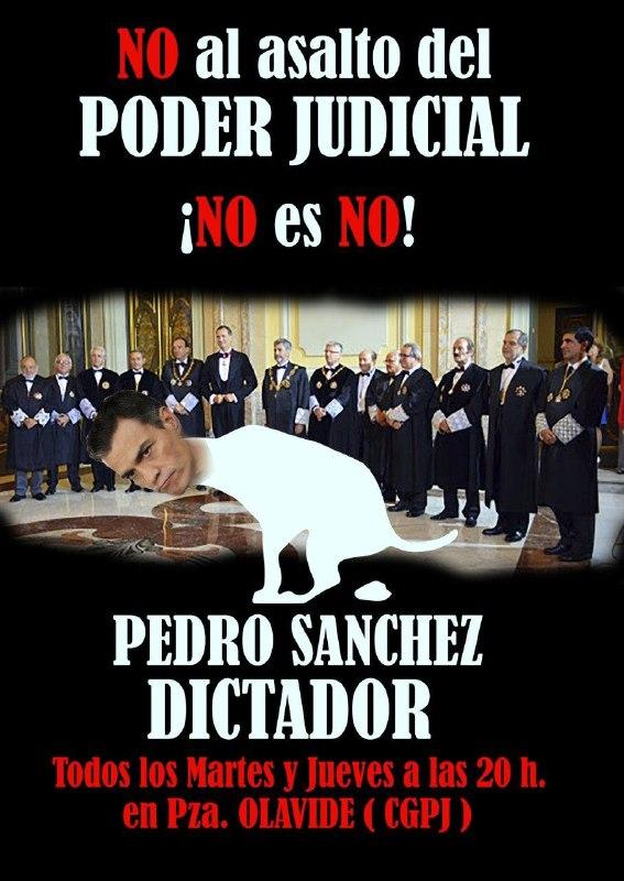 asalto al poder judicial
