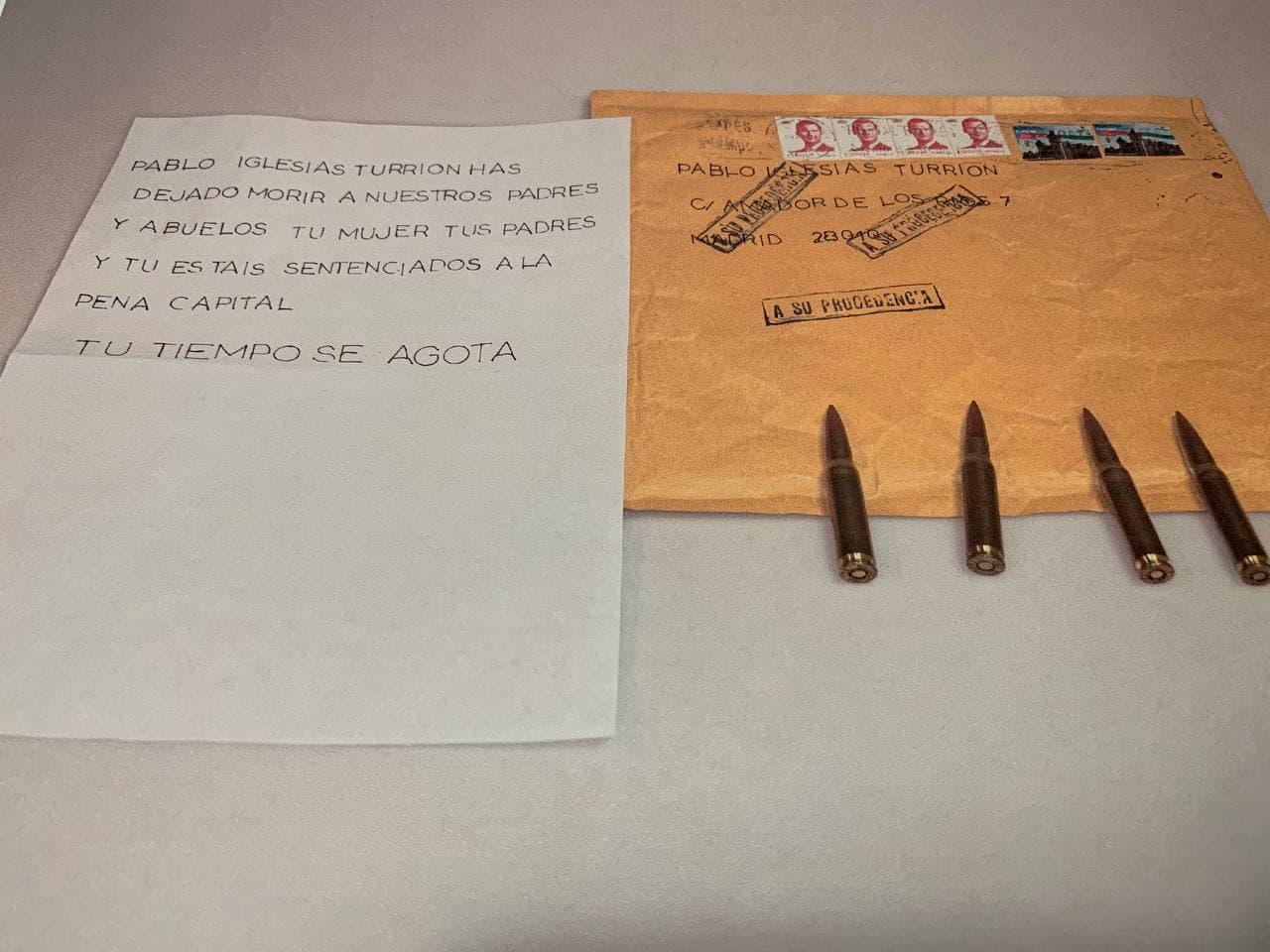 Carta Pablo Iglesias